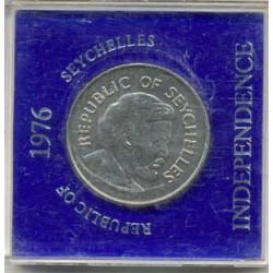 Seychelles 1976 10 Rupias (Independencia) S/C