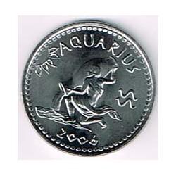 Somalilandia 2006 10 Shillings Horóscopo (Acuario) S/C