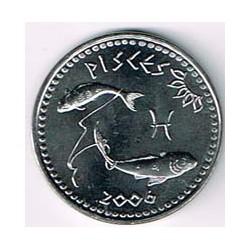 Somalilandia 2006 10 Shillings Horóscopo (Piscis) S/C