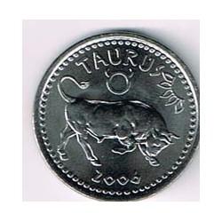 Somalilandia 2006 10 Shillings Horóscopo (Tauro) S/C
