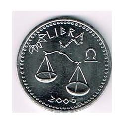 Somalilandia 2006 10 Shillings Horóscopo (Libra) S/C