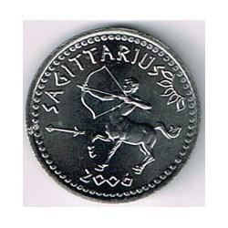 Somalilandia 2006 10 Shillings Horóscopo (Sagitario) S/C