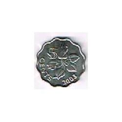 Suazilandia 2003 5 Cents. S/C