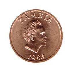 Zambia 1983 2 Ngwee (Pres. Kaunda) S/C