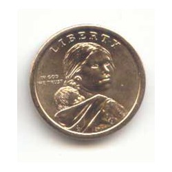 Estados Unidos 2009 1 dólar Sacagawea P. Cultivo S/C