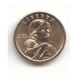 Estados Unidos 2010 1 dólar Sacagawea D. Flechas S/C