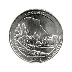 Estados Unidos (Parques) 2010 1/4 Dólar D (Yosemite) S/C
