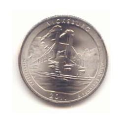 Estados Unidos (Parques) 2011 1/4 de Dólar. Letra P (Vicksburg) S/C