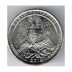 Estados Unidos (Parques) 2012 1/4 Dólar D (Hawai) S/C