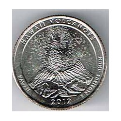 Estados Unidos (Parques) 2012 1/4 Dólar P (Hawai) S/C