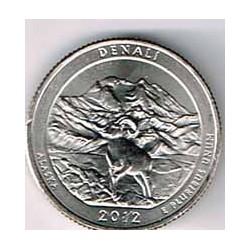 Estados Unidos (Parques) 2012 1/4 Dólar D (Denali) S/C