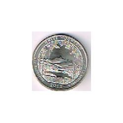 Estados Unidos (Parques) 2013 1/4 Dólar P (White Mountain) S/C