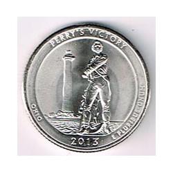 Estados Unidos (Parques) 2013 1/4 Dólar D (Victoria de Perry. Ohio) S/C