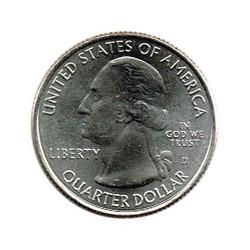 Estados Unidos (Parques) 2013 1/4 Dólar D (Fort Mc Henry) S/C