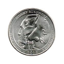 Estados Unidos (Parques) 2013 1/4 Dólar P (Monte Rushmore) S/C