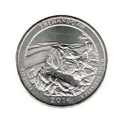 Estados Unidos (Parques) 2014 1/4 Dólar P (Shenandoah) S/C