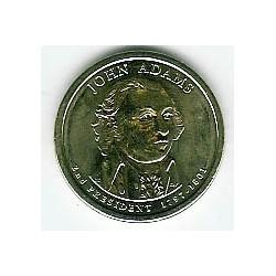 Estados Unidos 1 dólar Presidentes 2007 P .Adams (2) S/C