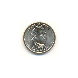 Estados Unidos 1 dólar Presidentes 2008 D .Monroe (5) S/C