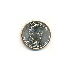 Estados Unidos 1 dólar Presidentes 2008 P .Monroe (5) S/C