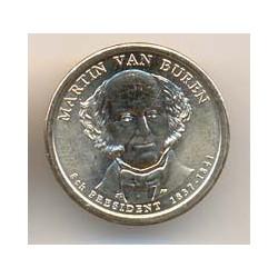 Estados Unidos 1 dólar Presidentes 2008 P .Van Buren (8) S/C