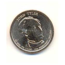 Estados Unidos 1 dólar Presidentes 2009 D. John Tyler (10) S/C