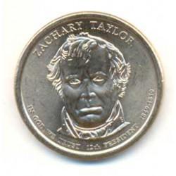 Estados Unidos 1 dólar Presidentes 2009 P .Zachary Taylor (12) S/C