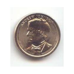 Estados Unidos 1 dólar Presidentes 2011 P .Andrew Johnson (17) S/C