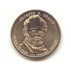 Estados Unidos 1 dólar Presidentes 2011 P .Ulysses S. Grant (18) S/C