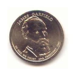 Estados Unidos 1 dólar Presidentes 2011 P. Garfield (20) S/C