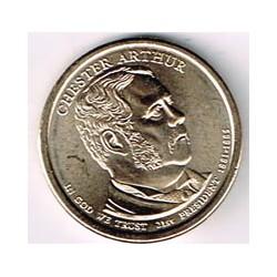 Estados Unidos 1 dólar Presidentes 2012 D .Chester Arthur (21) S/C