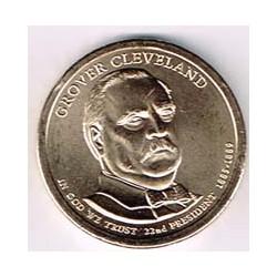 Estados Unidos 1 dólar Presidentes 2012 D .Grover Cleveland (22) S/C