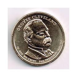 Estados Unidos 1 dólar Presidentes 2012 D .Grover Cleveland (24) S/C