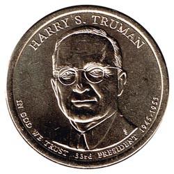 Estados Unidos 1 dólar Presidentes 2015 D .Harry S. Truman (33) S/C