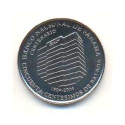 Panamá 2009 1/2 Balboa (Centenario Banco Nacional) S/C