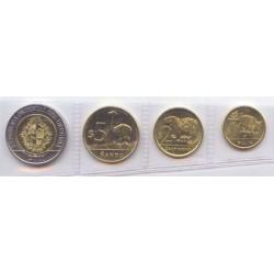 Uruguay 2011 Tira de 4 valores (1,2,5,10 Pesos) S/C