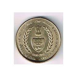 India 2011 5 Rupias (Comptroller) S/C