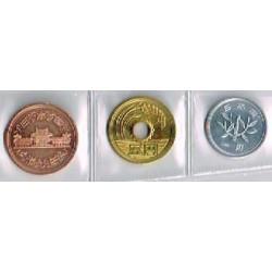 Japón 2004 3 valores (1,5 y 10 Yen) S/C