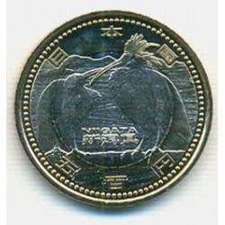 Japón 2009 500 Yen Bimetálica (Niigata) S/C