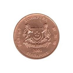 Singapur 2001 1 Cent S/C