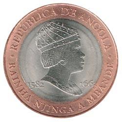 Angola 2014 20 Kwanzas (Rainha Njinga.) S/C