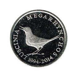 Croacia 2014 1 Kuna (20 Años de la moneda.) S/C