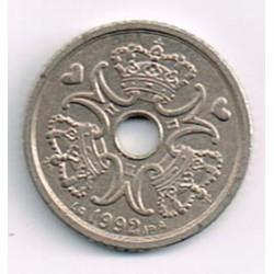 Dinamarca 1992 1 Corona S/C