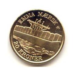 Dinamarca 2011 20 Coronas (Barco Emma Maersk) S/C