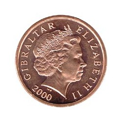Gibraltar 2000 1 Penique S/C