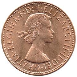Gran Bretaña 1967 1 Penique EBC-