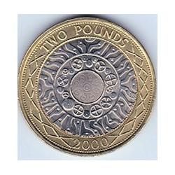 Gran Bretaña 2008 2 Pounds. Bimetálica. (Industria) S/C