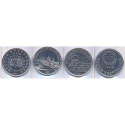 Hungría 2005 - 2007 4 valores (4x50 Forint) S/C