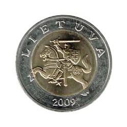 Lituania 2009 5 Litas (Bimetálica) S/C