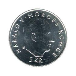 Noruega 1995 5 Coronas (50 Años de la ONU) S/C
