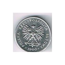Polonia 1989 - 1990 2 Zlote S/C